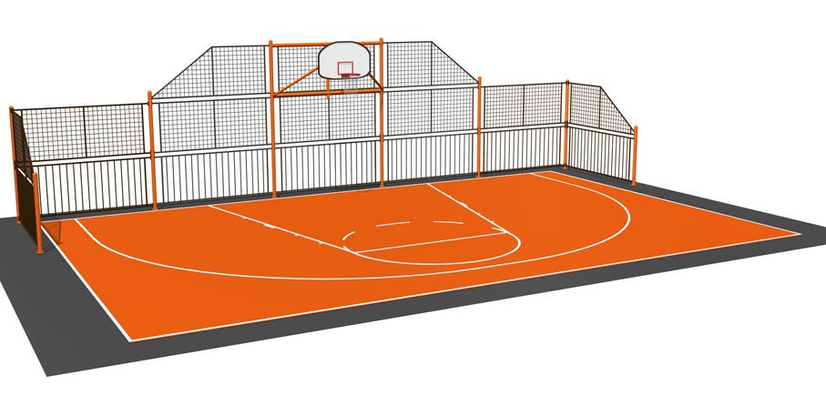 Ограждения спортивных площадок