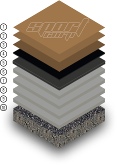 Акриловое покрытие Кушн 4