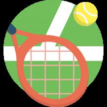 Покрытие теннисных кортов